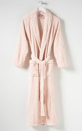 Spot Women`s Velour Dressing Gown