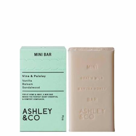 ASHLEY & CO - Mini Bar Soap Vine & Paisley