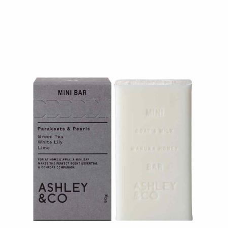 ASHLEY & CO - Mini Bar Soap Parakeets & Pearls